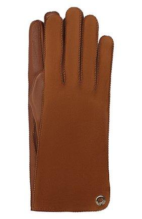 Перчатки Jacqueline из кожи и замши | Фото №1