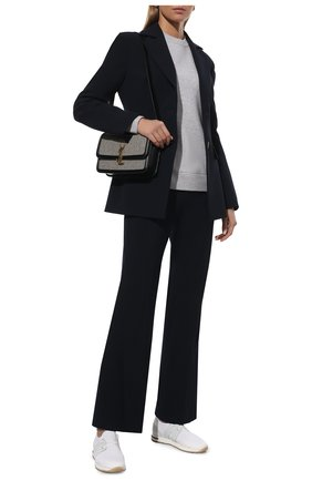 Женские текстильные кроссовки 360 lp walk LORO PIANA белого цвета, арт. FAI7759 | Фото 2