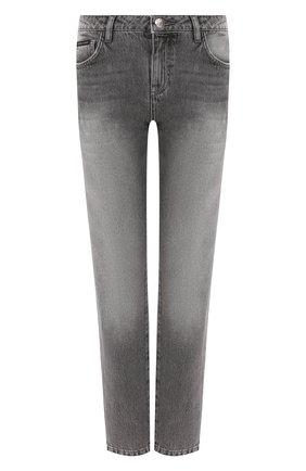 Женские джинсы PHILIPP PLEIN серого цвета, арт. WDT1117 | Фото 1