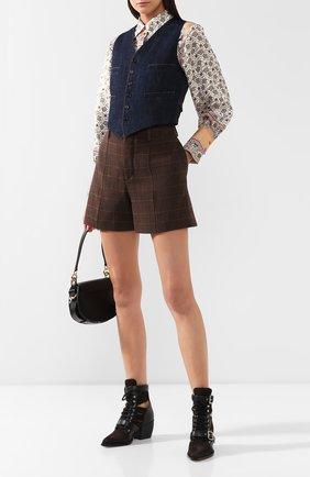 Женский джинсовый жилет RALPH LAUREN синего цвета, арт. 290764968 | Фото 2