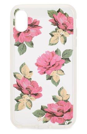 Мужской чехол для iphone xs max SONIX розового цвета, арт. 288-0266-0011 | Фото 1
