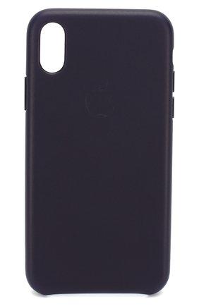 Мужской чехол для iphone x/xs APPLE  темно-синего цвета, арт. MQTG2ZM/A   Фото 1