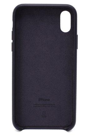 Мужской чехол для iphone x/xs APPLE  темно-синего цвета, арт. MQTG2ZM/A   Фото 2