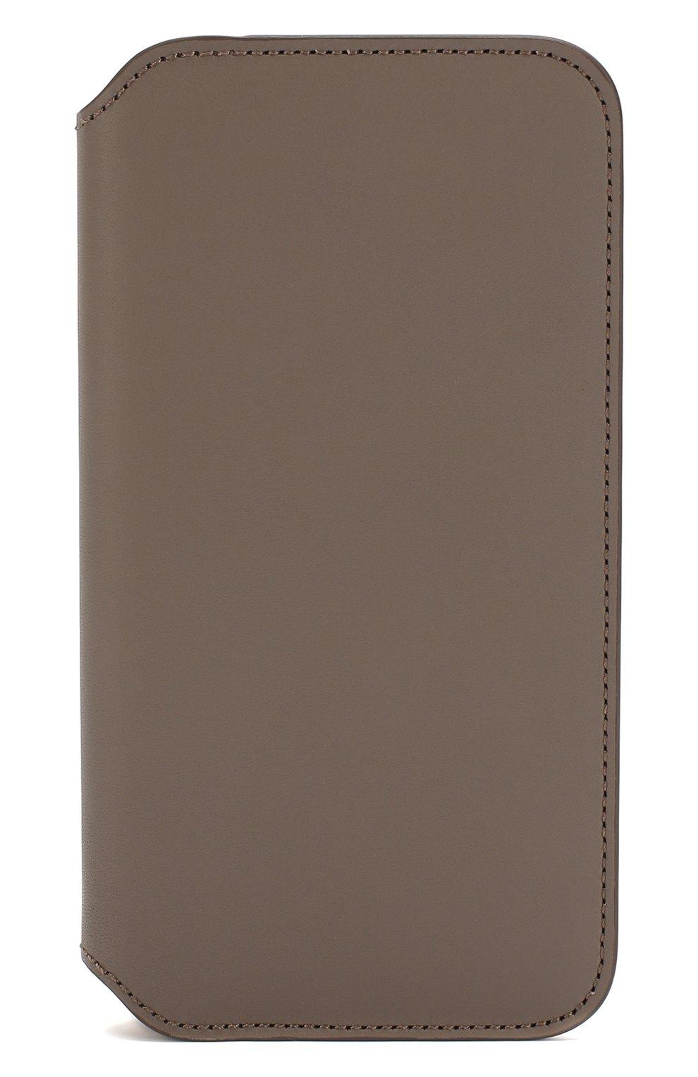 Мужской чехол для iphone x/xs APPLE  серого цвета, арт. MQRY2ZM/A   Фото 1