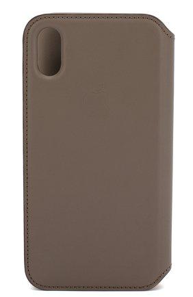 Мужской чехол для iphone x/xs APPLE серого цвета, арт. MQRY2ZM/A | Фото 2