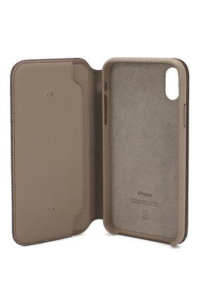 Мужской чехол для iphone x/xs APPLE  серого цвета, арт. MQRY2ZM/A   Фото 3