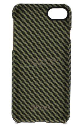 Мужской чехол для iphone 7/8 PITAKA зеленого цвета, арт. KI8006 | Фото 2