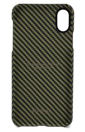 Мужской чехол для iphone xs max PITAKA зеленого цвета, арт. KI8006X | Фото 2