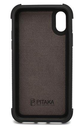 Мужской чехол для iphone x/xs PITAKA черного цвета, арт. KI8001XP | Фото 2