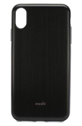 Мужской чехол для iphone xs max MOSHI черного цвета, арт. 99MO113002 | Фото 1