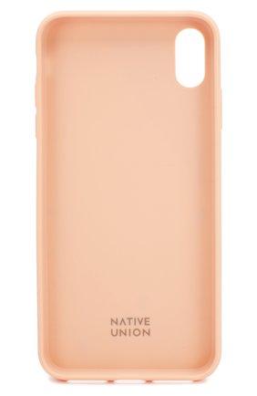Мужской чехол для iphone xs max NATIVE UNION розового цвета, арт. CTERA-ROSE-NP18L | Фото 2