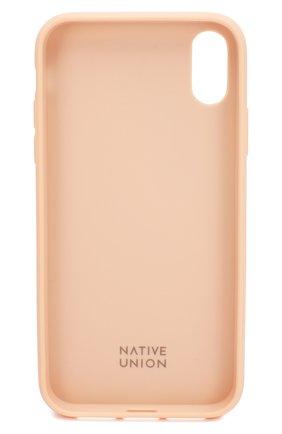 Мужской чехол для iphone xr NATIVE UNION розового цвета, арт. CCARD-ROSE-NP18M | Фото 2