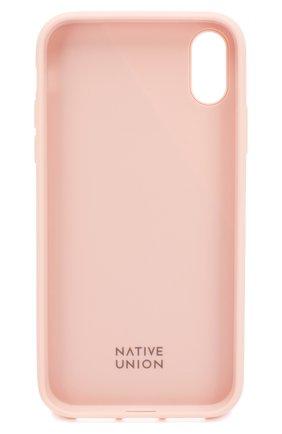Мужской чехол для iphone xr NATIVE UNION розового цвета, арт. CCAV-ROSE-NP18M | Фото 2