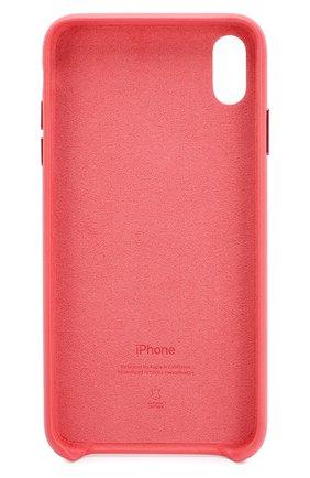 Мужской чехол для iphone xs max APPLE  кораллового цвета, арт. MTEX2ZM/A   Фото 2