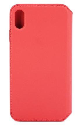 Мужской чехол для iphone xs max APPLE  кораллового цвета, арт. MRX62ZM/A   Фото 2