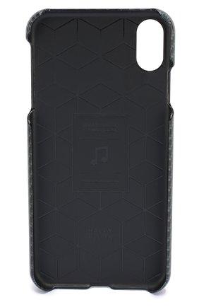 Мужской чехол для iphone xs max HAPPY PLUGS серого цвета, арт. 9332   Фото 2