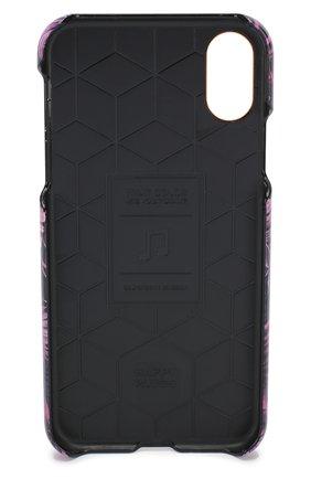 Мужской чехол для iphone x/xs HAPPY PLUGS фиолетового цвета, арт. 9346 | Фото 2