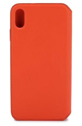 Мужской чехол для iphone xs max APPLE  оранжевого цвета, арт. MVFU2ZM/A   Фото 2