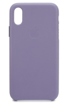 Мужской чехол для iphone x/xs APPLE фиолетового цвета, арт. MVFR2ZM/A | Фото 1