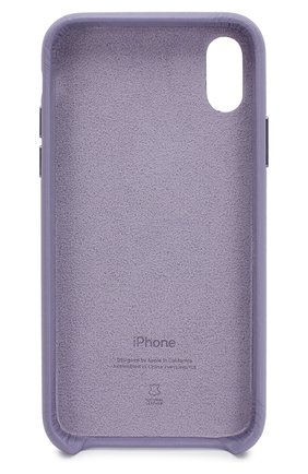 Мужской чехол для iphone x/xs APPLE фиолетового цвета, арт. MVFR2ZM/A | Фото 2
