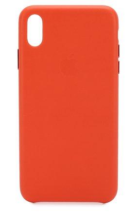 Мужской чехол для iphone xs max APPLE оранжевого цвета, арт. MVFY2ZM/A | Фото 1