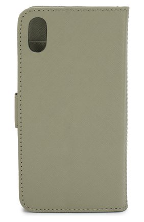 Мужской чехол для iphone xs max DBRAMANTE1928 зеленого цвета, арт. MIXPOLGR5157 | Фото 2