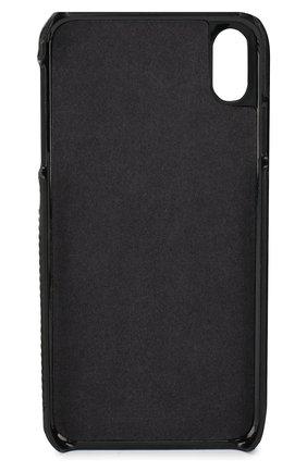 Мужской чехол для iphone xs max DBRAMANTE1928 черного цвета, арт. TCXPGTBL0917   Фото 2