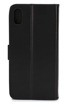 Мужской чехол для iphone xs max DBRAMANTE1928 черного цвета, арт. COXPGTBL0904   Фото 2
