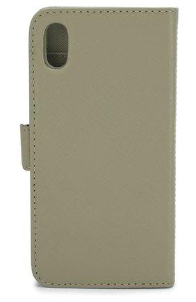 Мужской чехол для iphone xs max DBRAMANTE1928 зеленого цвета, арт. NYXPOLGR5170 | Фото 2