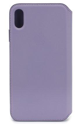 Мужской чехол для iphone xs max APPLE фиолетового цвета, арт. MVFV2ZM/A | Фото 2