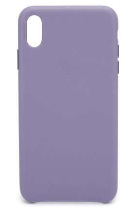 Мужской чехол для iphone xs max APPLE фиолетового цвета, арт. MVH02ZM/A | Фото 1