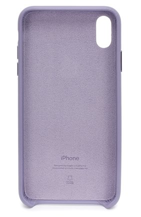 Мужской чехол для iphone xs max APPLE фиолетового цвета, арт. MVH02ZM/A | Фото 2