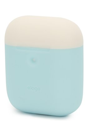 Чехол для airpods wireless ELAGO голубого цвета, арт. EAP2DO-PBL-PKWH | Фото 5 (Статус проверки: Проверена категория)