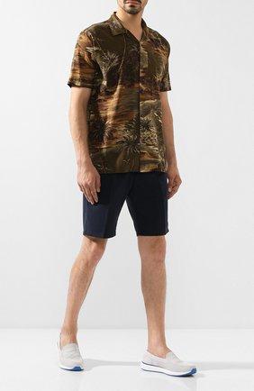 Мужские текстильные слипоны SWIMS серого цвета, арт. 21306   Фото 2