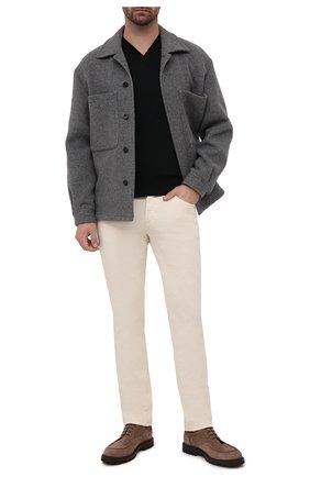 Мужской шерстяной пуловер BRIONI черного цвета, арт. UMQ70L/0ZK18 | Фото 2