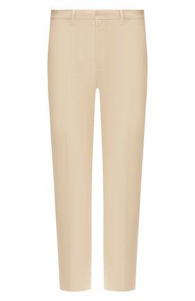 Мужской хлопковые брюки DSQUARED2 бежевого цвета, арт. S74KB0314/S41794 | Фото 1