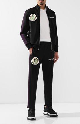 Мужской брюки 8 moncler palm angels MONCLER GENIUS черного цвета, арт. E2-09L-87003-50-899A1 | Фото 2