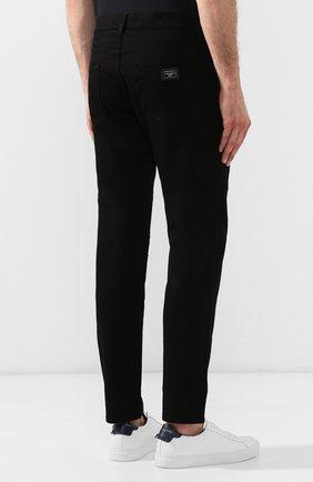 Мужские джинсы DOLCE & GABBANA черного цвета, арт. GY07CD/G8BK5 | Фото 4