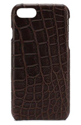 Мужской чехол для iphone 7/8 2MESTYLE коричневого цвета, арт. DD677/CNIL | Фото 1