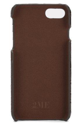 Мужской чехол для iphone 7/8 2MESTYLE коричневого цвета, арт. DD677/CNIL | Фото 2