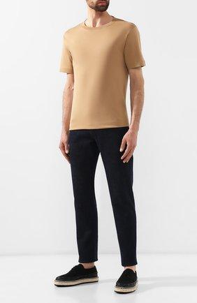 Мужские текстильные эспадрильи BOTTEGA VENETA черного цвета, арт. 578267/VT04X | Фото 2