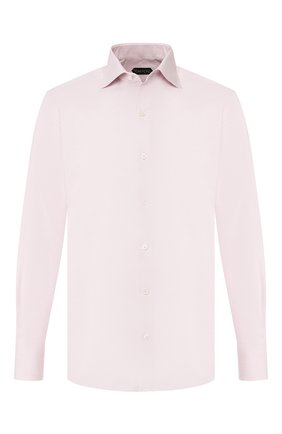 Мужская хлопковая сорочка TOM FORD розового цвета, арт. 6FT626/94S3AX | Фото 1