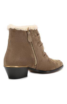 Замшевые ботинки Susanna   Фото №4