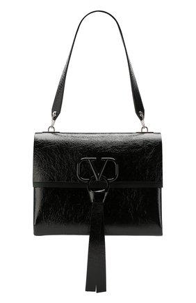 Женская сумка valentino garavani vring medium VALENTINO черного цвета, арт. SW2B0E02/FBA | Фото 1