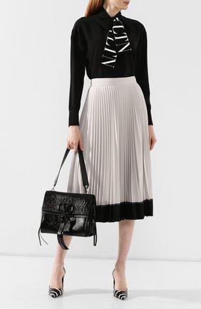 Женская сумка valentino garavani vring medium VALENTINO черного цвета, арт. SW2B0E02/FBA | Фото 2