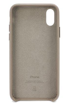 Мужской чехол для iphone x/xs APPLE серого цвета, арт. MRWL2ZM/A | Фото 2