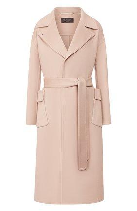 Женское кашемировое пальто LORO PIANA светло-розового цвета, арт. FAI7134   Фото 1
