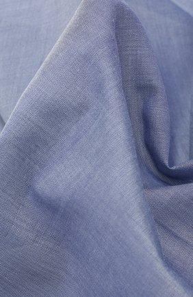 Мужской хлопковый платок SIMONNOT-GODARD синего цвета, арт. PHILHARM0NIE | Фото 2