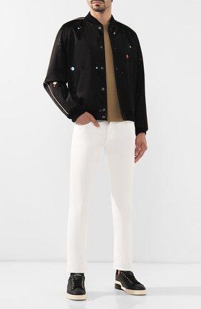 Мужские джинсы RALPH LAUREN белого цвета, арт. 790563748 | Фото 2