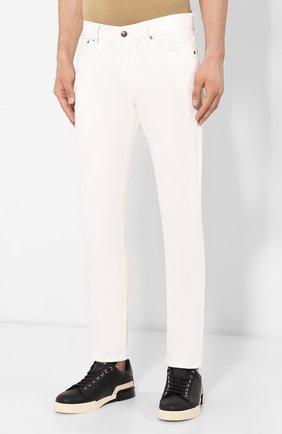 Мужские джинсы RALPH LAUREN белого цвета, арт. 790563748 | Фото 3